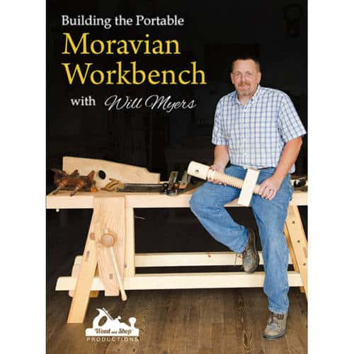 Moravian workbench cover