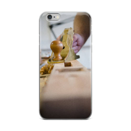 Hand Planing iPhone Case for 5/5s/Se, 6/6s, 6/6s Plus