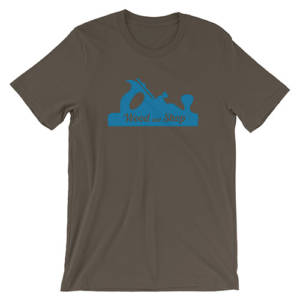 Wood and Shop logo t-shirt