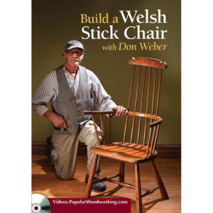 DVD cover for Build a Welsh Stick Chair with Don Weber