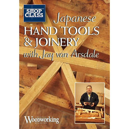DVD cover for Japanese hand tools and joinery with jay van arsdale