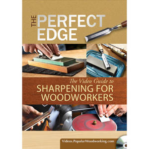 DVD cover for Sharpening Hand tools The Perfect Edge with Ron Hock