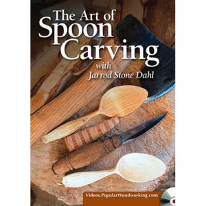 Cover for the art of spoon carving jarrod stone dahl