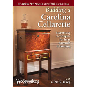 DVD cover for Building a Carolina Cellarette