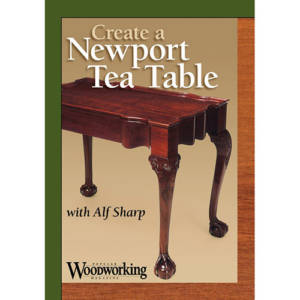 DVD cover for Create a Newport Tea Table with Alf Sharp