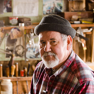 David Ray Pine woodworking instructor at the woodandshop traditional woodworking school