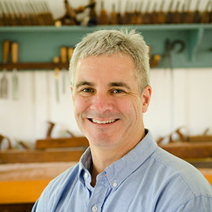 Tom Calisto woodworking teacher at the Wood And Shop Traditional Woodworking School