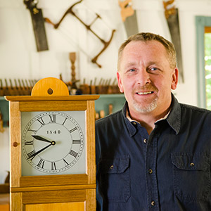 Will Myers woodworking teacher at the Wood And Shop Traditional Woodworking School
