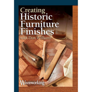 Creating Historic Furniture Finishes Video DVD cover