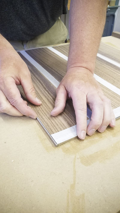 Wood veneering and wood inlay class with Dave Heller
