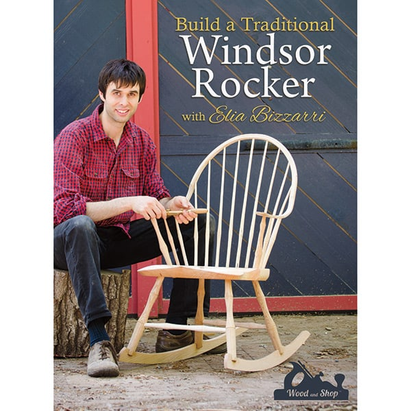 Build a Windsor Rocker rocking chair video Elia Bizzarri cover