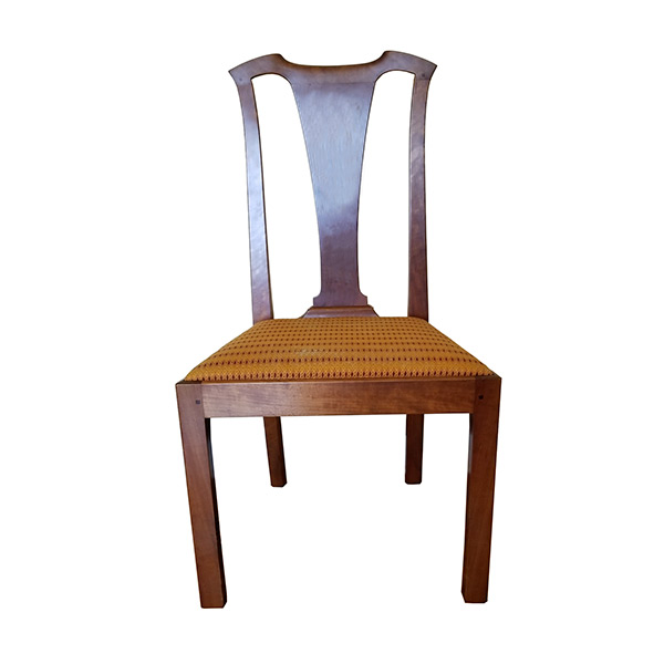 Country Chippendale chair for David Ray Pine's chair making class