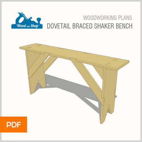 shaker bench woodworking plans